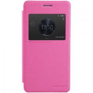 Huawei Honor 6 Plus - etui na telefon - Nillkin Sparkle różowe