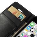 Apple iPhone 5C Portfel Etui – Sonata Czarne
