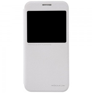 Samsung Galaxy S6 - etui na telefon - Nillkin Sparkle białe