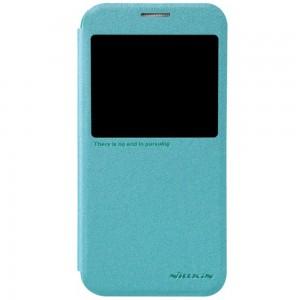 Samsung Galaxy S6 - etui na telefon - Nillkin Sparkle niebieskie