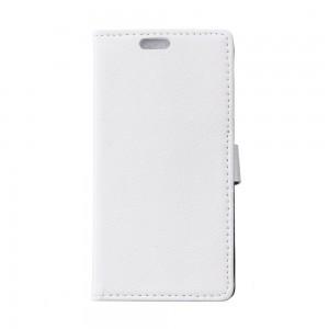 Samsung Galaxy Xcover 3 - etui na telefon i dokumenty - Litchi białe