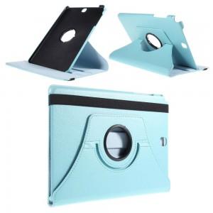 Samsung Galaxy Tab A 9.7 - etui na tablet - Lychee niebieskie