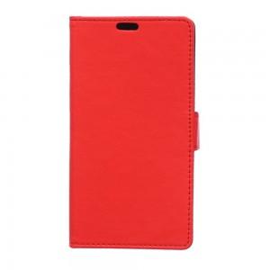 LG Magna - etui na telefon i dokumenty - Lychee czerwone