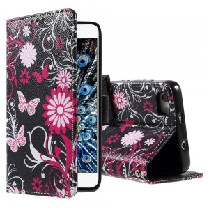Huawei Honor 6 - etui na telefon i dokumenty - Kwiaty 3