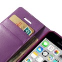 Apple iPhone 5C Portfel Etui – Sonata Purpurowy