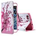 Huawei Honor 6 Portfel Etui – Kwiaty 2
