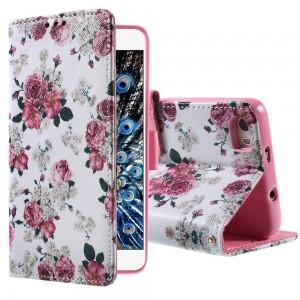 Huawei Honor 6 - etui na telefon i dokumenty - Kwiaty 1