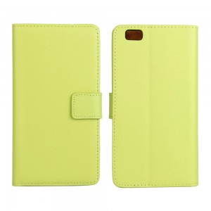 Huawei P8 Lite - etui na telefon i dokumenty - zielone
