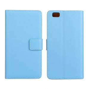 Huawei P8 Lite - etui na telefon i dokumenty - niebieskie