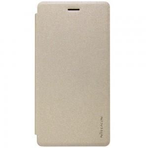 Huawei P8 Lite - etui na telefon - Nillkin Sparkle złote