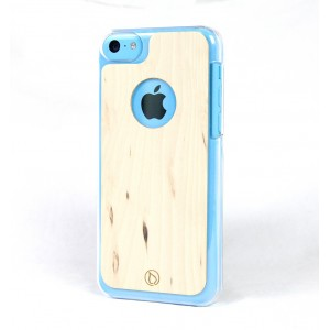 Apple iPhone 5C Etui Drewno – Lastu Curly Birch