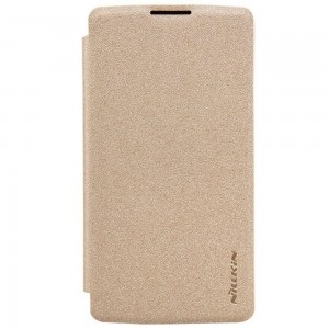 LG Leon 4G LTE - etui na telefon - Nillkin Sparkle złote