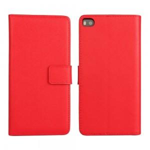 Huawei P8 - etui na telefon i dokumenty - czerwone