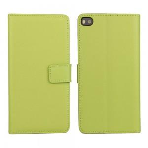 Huawei P8 - etui na telefon i dokumenty - zielone