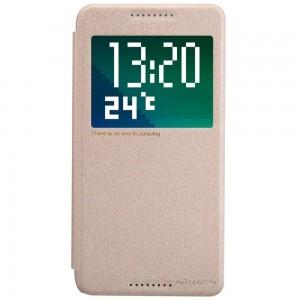HTC Desire 820 - etui na telefon - Nillkin Sparkle złote