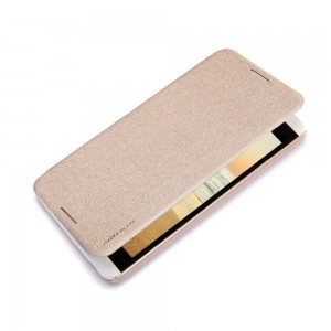HTC Desire 816 - etui na telefon - Nillkin Sparkle złote