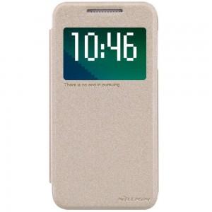 HTC Desire 510 - etui na telefon - Nillkin Sparkle złote