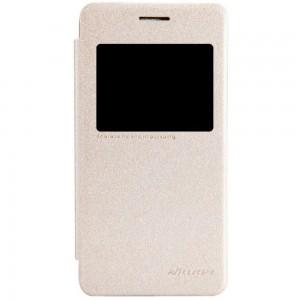 Asus Zenfone 4 A450CG - etui na telefon - Nillkin Sparkle złote
