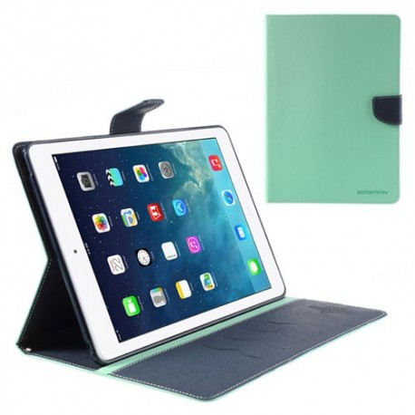 Apple iPad Air - etui do tabletów - Fancy Goospery cyjan