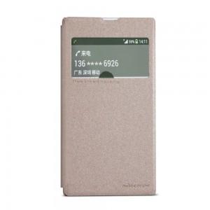 Sony Xperia Z1 - etui na telefon - Nillkin Sparkle złote