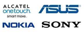 Etui i pokrowce do smartfonów Alcatel, Asus, Nokia oraz Sony